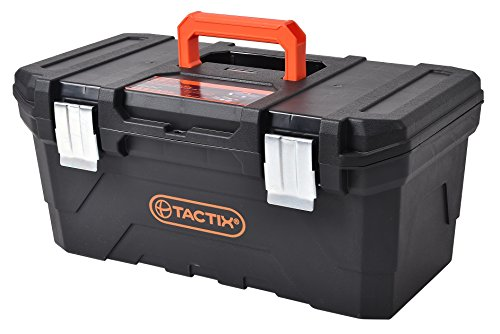 Tactix 32034220'caja de herramientas de plástico