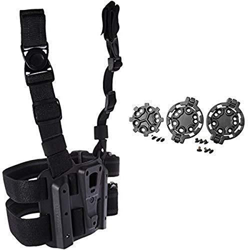 BLACKHAWK 432000PBK Tactical Holster Platform, Black AND...