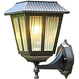 Linternas De Pared Solares para Exteriores, Luces De Pared Retro...