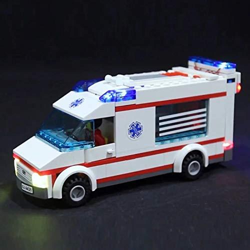 Nlne Kit De Iluminación Led para Lego City Series Ambulance, Compatible con Ladrillos De Construcción Lego Modelo 4431(NO Incluido En El Modelo)