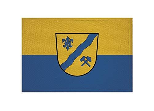 U24 Aufnäher Dellach (Kärnten) Fahne Flagge Aufbügler Patch 9 x 6 cm