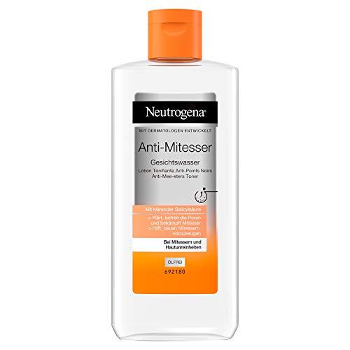 Neutrogena Anti-Mitesser Gesichtswasser, Porenreiniger, Bei Mitessern und Hautunreinheiten, 200 ml