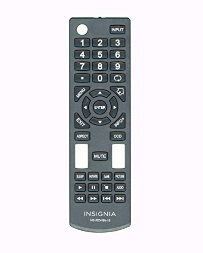 New Insignia Ns-rc4na-16 Tv Remote for Ns-28dd220mx16 Ns-50d420mx16 Ns-50d420na16 Ns-39d220na16 Ns-39d220mx16 Ns-43d420na16 Ns-43d420mx16 Ns-24dd220na16 Ns-24dd220mx16 Ns-55dr420na16 Ns-55dr420ca16
