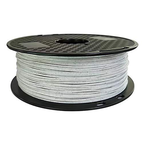 Filamento Pla Stampante 3D filamento PLA 1,75 millimetri 2,85 millimetri for sceglie 500g / 1Kg di pietra filo Rock texture materiali di stampa for ceramica Statua (Color : 2.85mm 1Kg)