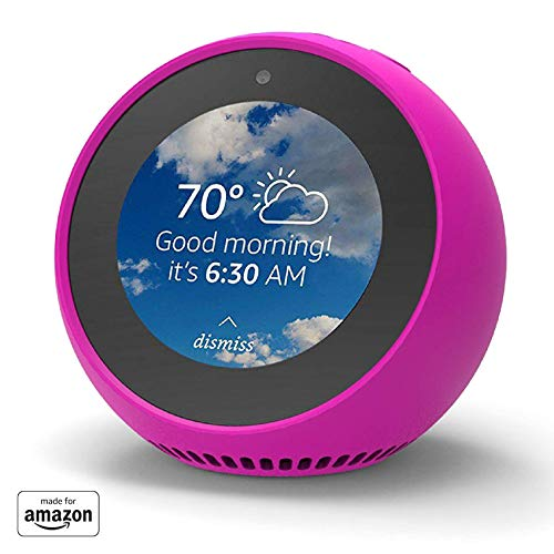 """Made for Amazon"" Mission Cables Skin for Echo Spot - Hot Pink"