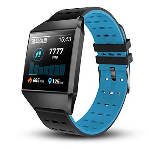 Promise2134 Smart-Armband W1C Blutdruck-wasserdichte Fitness-Tracker-Uhr Schlaf-Monitor Smart-Armband für iPhone Huawei