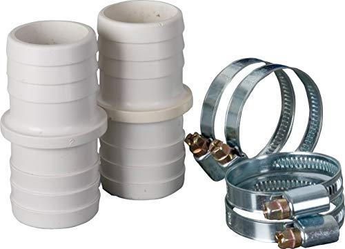 Gre AR509 - Kit de raccordement de tuyau: 2 tuyaux et 4 colliers de serrage de 38 mm de diamètre