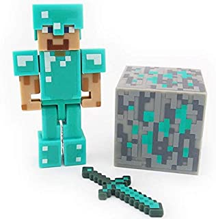 Minecraft games steve Removable figure 3 inch childrens' toy