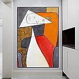 Poster E Impresiones De Picasso Pinturas Famosas Reproducciones De Obras De Arte De Lienzo Abstracto Murales Modernos Cuadros De Decoracion del Hogar 60x90cm Sin Marco