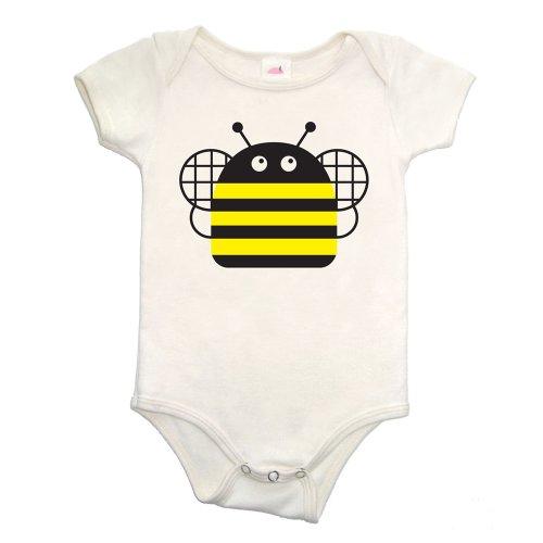 Organic Bee Bodysuit - Made in USA (12-18 mos)