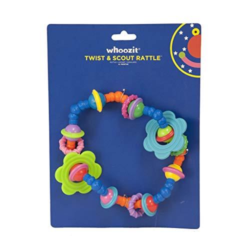 Manhattan Toy Whoozit Twist et Scout d'activité Hochet et anneau de dentition