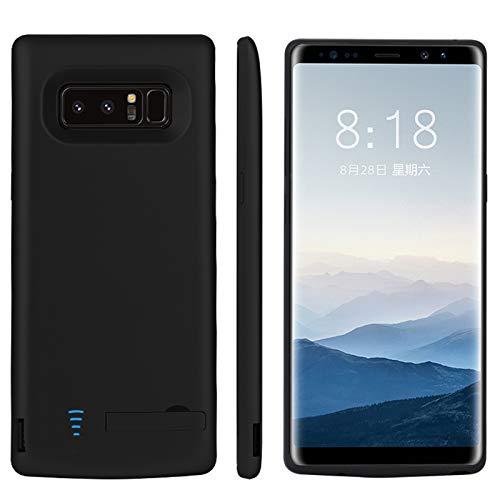 HiKiNS Akku Hülle kompatibel mit Galaxy Note8, 6500mAh Tragbare Ladebatterie Zusatzakku Externe Handyhülle Batterie Wiederaufladbare Schutzhülle Power Bank Akku Hülle für Samsung Galaxy Note 8
