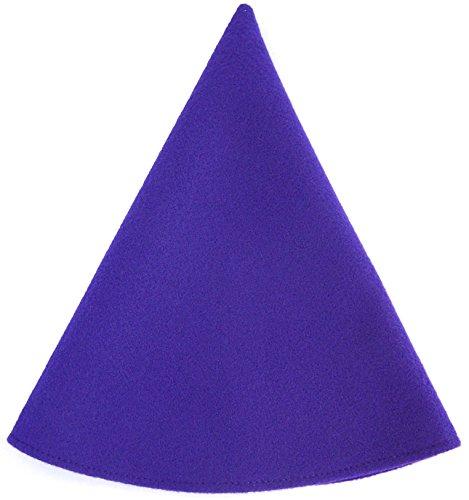 Red Gnome Hat Women's Costume Cap Purple