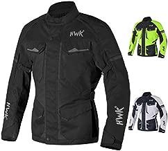 Adventure/Touring Motorcycle Jacket For Men Textile Motorbike CE Armored Waterproof Jackets ADV 4-Season (Black, Large)