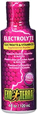 Exo Terra Electrolyte and Vitamin D3 Supplement 120 ml by HAGBB