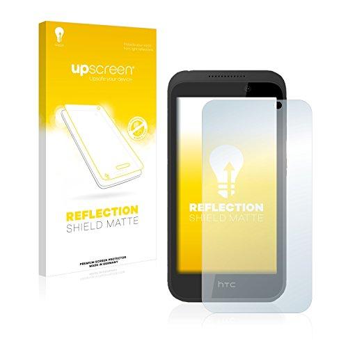 upscreen Entspiegelungs-Schutzfolie kompatibel mit HTC Desire 320 – Anti-Reflex Bildschirmschutz-Folie Matt