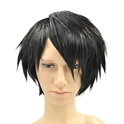 CoolChange Perruque de L Lawliet de la série Death Note, Noire