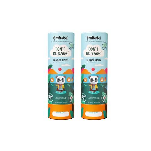 EmBeba Natural Diaper Rash Cream for Kids with Sensitive Skin
