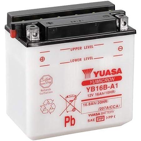Batterie Yuasa Yb16al A2 Dc Offen Ohne Säure 12v 16ah Cca 210a 207x71 5x164mm Auto