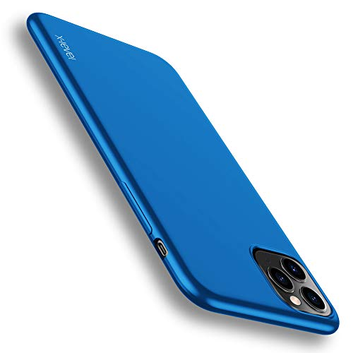 X-level für iPhone 11 Pro Max Hülle, [Guardian Serie] Soft Flex TPU Case Ultradünn Handyhülle Silikon Bumper Cover Schutz Tasche Schale Schutzhülle Kompatibel mit iPhone 11 Pro Max 6,5 Zoll - Blau
