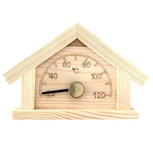 Preisvergleich Produktbild Saunathermometer - Kiefer -Blockhaus- (Pinetta)
