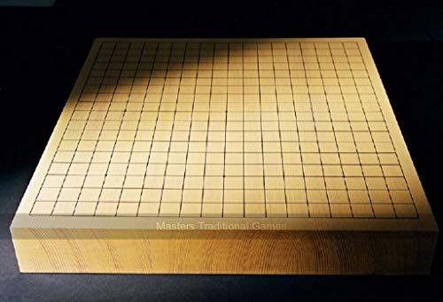 Masters Traditional Games Shin Kaya (Alaska Spruce) 6cm Goban