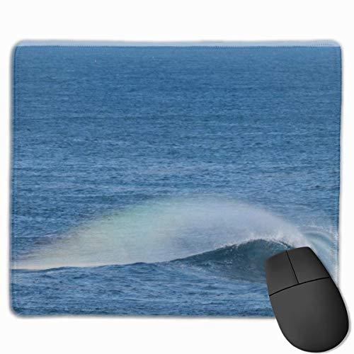 Rainbow Wave 0402 Rechteckiges rutschfestes Gaming-Mauspad Tastatur Gummi-Mauspad...