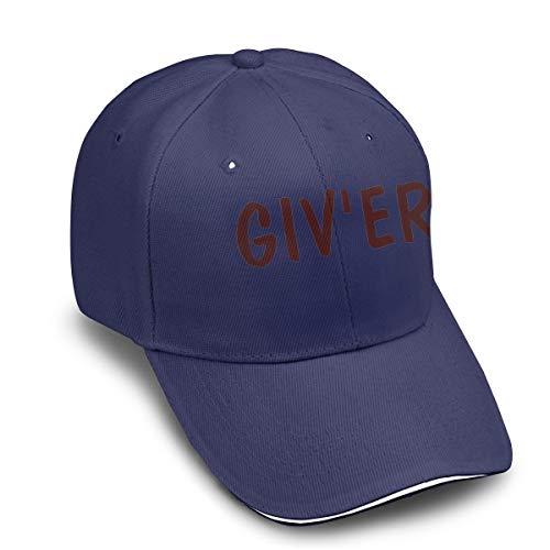 SHINEWUW GIV' ER Adult Thin and Comfortable Caps Navy