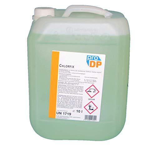 10l Pro DP Chlorfix Chlorreiniger Universalreiniger Hygiene Reiniger m. Chlor Sanitärreiniger Chlorbleiche