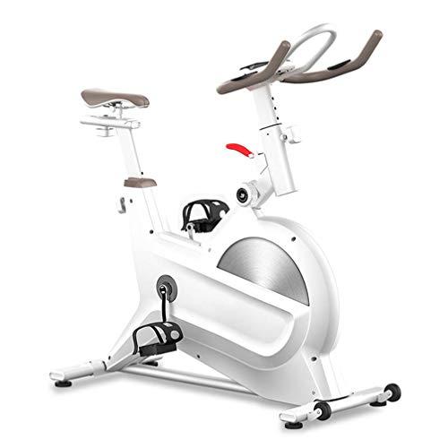 ZKHD Bicicletas De Spinning para El Hogar Controladas Magnéticamente, Bicicletas Estáticas para Bajar De Peso En Interiores, Conducción Dinámica Quema La Grasa por Completo