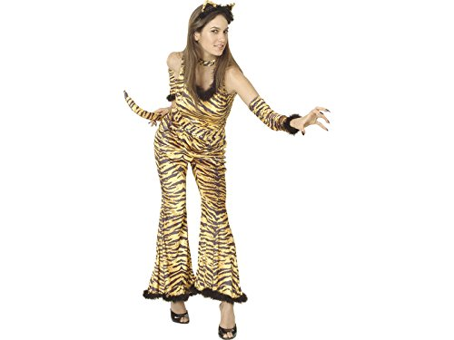 DISONIL Disfraz Tigresa Salvaje Mujer Talla L