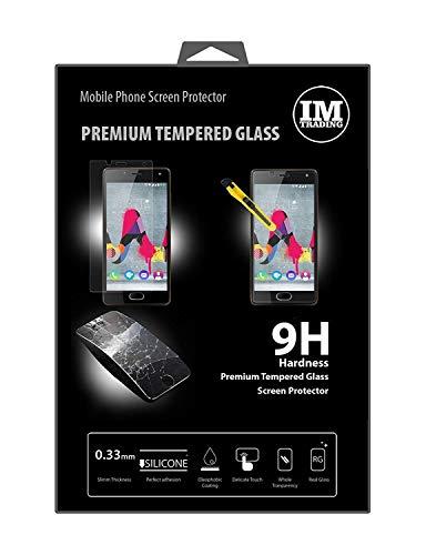 cofi1453 3X Panzer Schutz Glas 9H Tempered Glass Bildschirm Schutz Folie Bildschirm Glas Screen Protector kompatibel mit Wiko U Feel Lite
