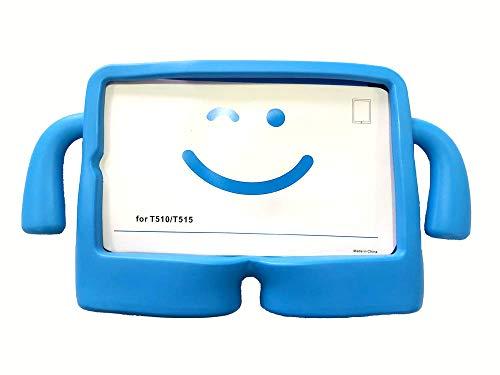 vendopoli Funda para Tablet NIÑOS Goma Compatible con Samsung Galaxy 10,1 Tab A 2019 T510/T515 (Azul)