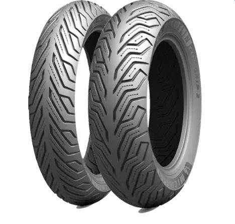Par de ruedas Michelin City Grip 120/70-15 56S 140/70-14 68S Dot 2017