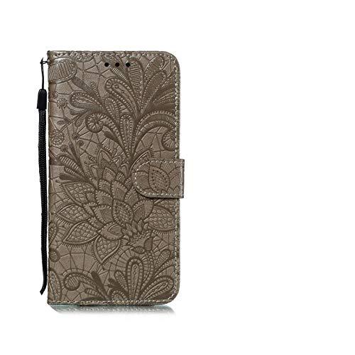 Phone Case - Funda de piel con tapa para Xiaomi Redmi Poco X3 NFC 8 8A 7A 6A 5 Plus 4A 4X 5A 9S Note 4 5 7 8 9 Pro 8T Go Redmi 9 9C 9A -Brown-Redmi 5 Plus