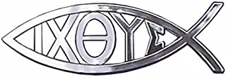 Travelling Witness Car Auto Adhesive Emblem Sticker Christian Jesus Ixoye Fish Gift