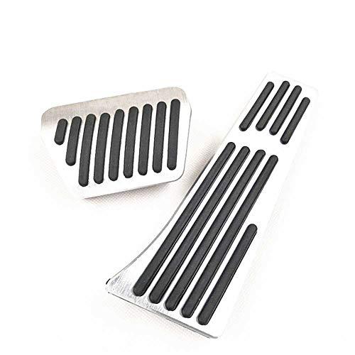 XQRYUB Pedali per Auto, Adatti per BMW E46 E36 E39 E60 E53 E82 E87 E90 E91 E70 E71 F25 F26 F10 F11 F01 F02 F30 F20 F15 F16 F22 1 2 3 5 7 Serie