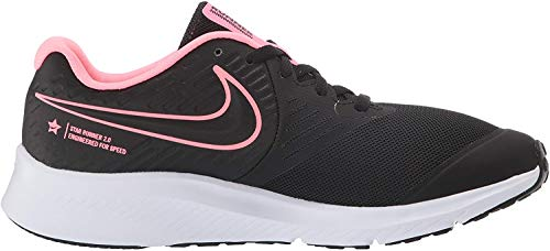 NIKE Zapatillas Star Runner 2, Multicolor Black Sunset Pulse Black White 002, 40 EU, AQ3542