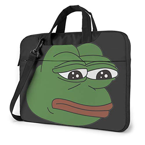 Pepe Laptop Shoulder Bag Compatible with 13-15.6 inch Computer for MacBook Pro/MacBook Air/Notebook Computer