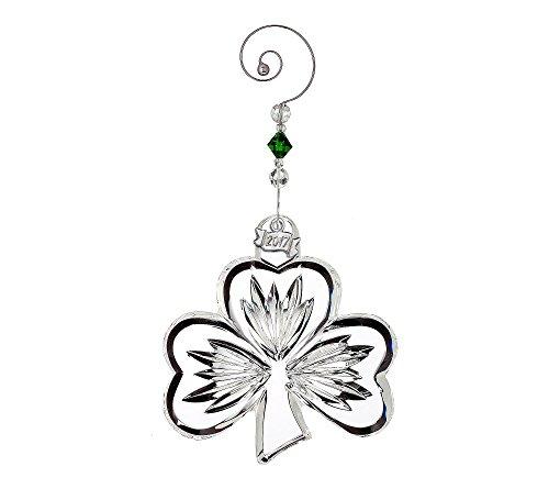 Waterford Shamrock Ornament