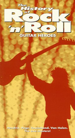 The History of Rock 'n' Roll - Guitar Heroes [VHS]