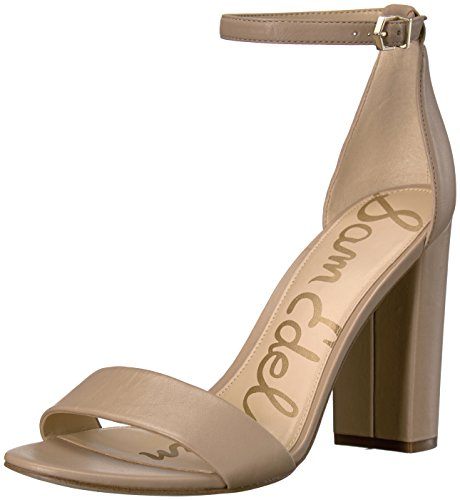 Sam Edelman Women's Yaro Classic Dress Sandal, Classic Nude Leather, 6 Medium US