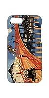 AQUOS sense5G SH-53A スマホカバー ケース 江戸文化 古典芸能 橋 波 芸術 art0034 日本製