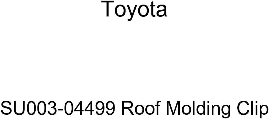 TOYOTA Genuine SU003-04499 Super sale Special price period limited Roof Molding Clip