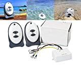 ISURE MARINE Anchor Remote Windlass Wireless Switch Boat Sail Trim Controller(2 × Water Proof remotes)
