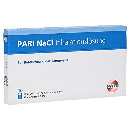 PARI NaCl Inhalationslösung zur Befeuchtung der Atemwege, 10 St. Ampullen