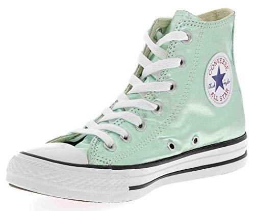 Converse Damen Ctas Hi Sneakers, Grün (Jade/Black/White), 37.5 EU