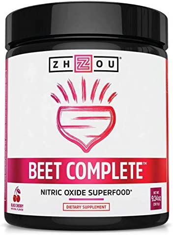 Zhou Beet Complete Nitric Oxide Superfood Powder Preworkout Formulated to Boost Performance product image