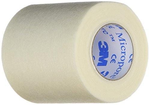 3M Micropore MM1530-2 Medizinisches Klebeband, 5 cm x 9,1 m, 6 Stück