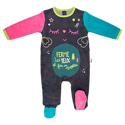 Pijama bebé terciopelo Wish–Talla–9meses (74cm)
